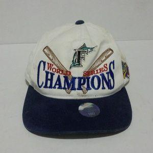 Retro Marlins 97 World Series Champion hat